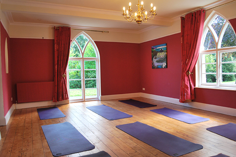 The Yoga House studio
